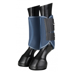 Carbon Mesh Wrap Boots Black/Mulberry