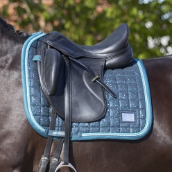 Tapis Dressage Hollywood Glamourous - Blue Lagoon