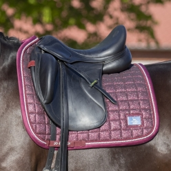 Tapis Dressage Hollywood Glamorous - Raspberry Shimmer