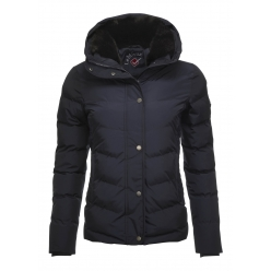 Loire Winter Short Coat - Navy