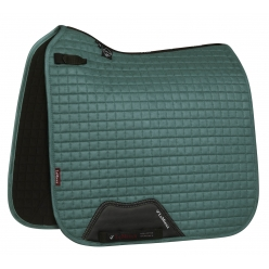 Suede Dressage Saddle Cloth - Sage